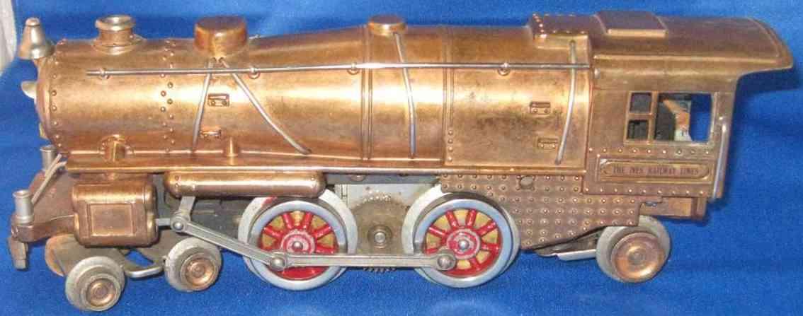 ives 1122 spielzeug eisenbahn dampflokomotive 4-4-2 kuper glocke