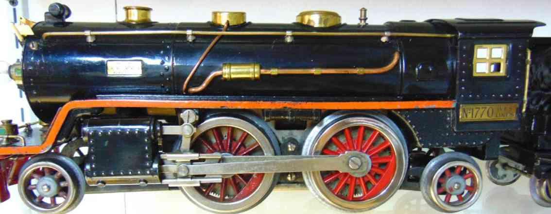 ives 1770 Lionel 390 spielzeug eisenbahn dampflokomotive schwarz wide gauge