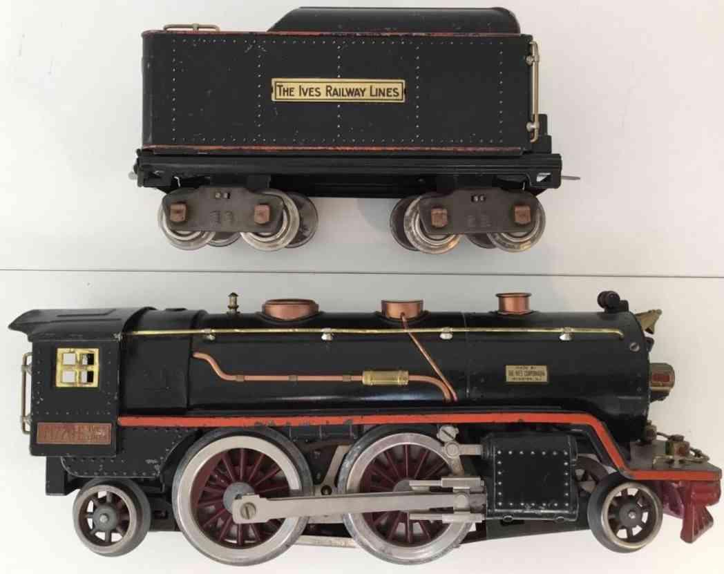 ives 1770e Lionel 390 spielzeug eisenbahn dampflokomotive schwarz wide gauge