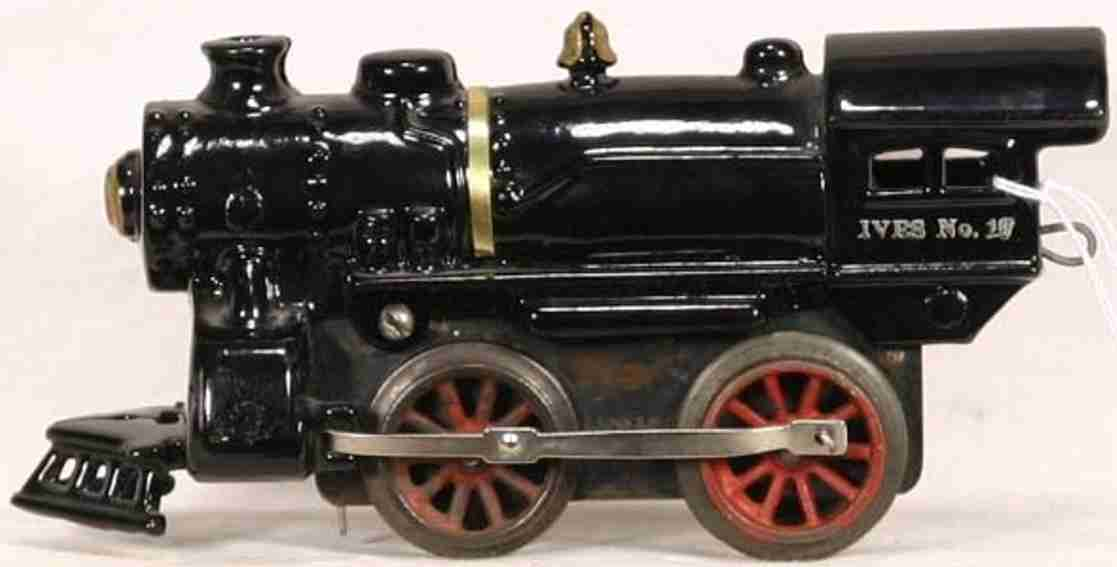 ives 19 spielzeug eisenbahn uhrwerk-dampflokomotive spur 0