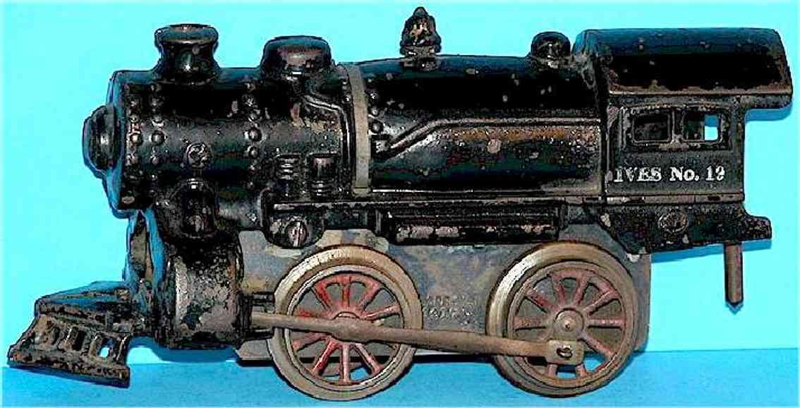 ives 19 1917 spielzeug eisenbahn uhrwerk-dampflokomotive spur 0
