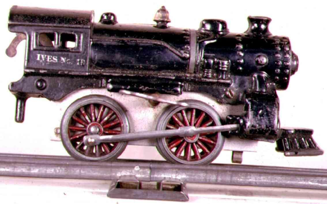 ives 19 1929 spielzeug eisenbahn uhrwerk-dampflokomotive spur 0