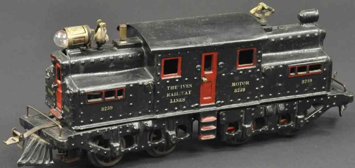 ives 3239 1913 eisenbahn lokomotive schwarz new york central spur 1