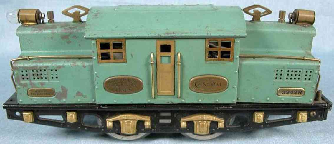 ives 3242r spielzeug eisenbahn lokomotive kadettblau messing wide gauge