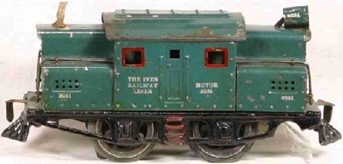 ives 3251 1919 spielzeug eisenbahn elektrolokomotive spur 0