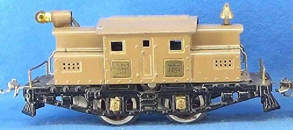 ives 3254 1926 spielzeug eisenbahn elektrolokomotive mit braun schwarz spur 0