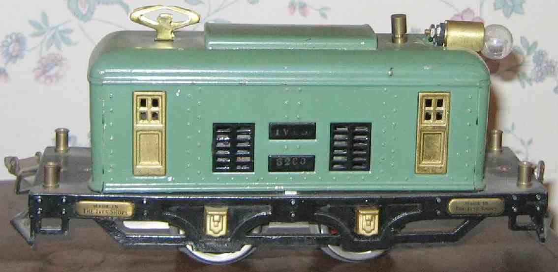 ives 3260 1928 spielzeug eisenbahn elektrolokomotive kadettenblau spur 0