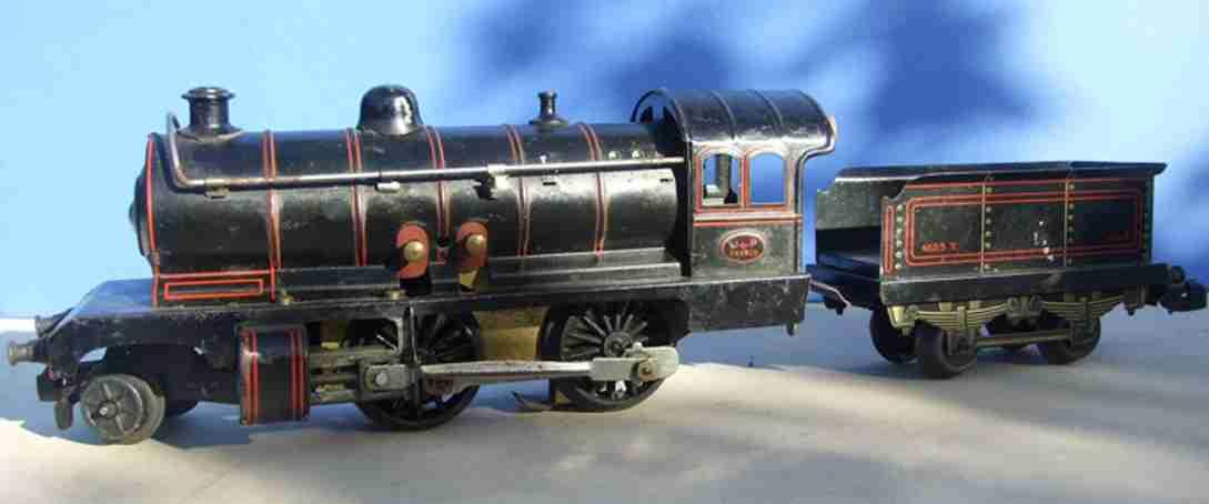 jep spielzeug eisenbahn lokomotive dampflokomotive des typs 120 mit tender für 110 volt