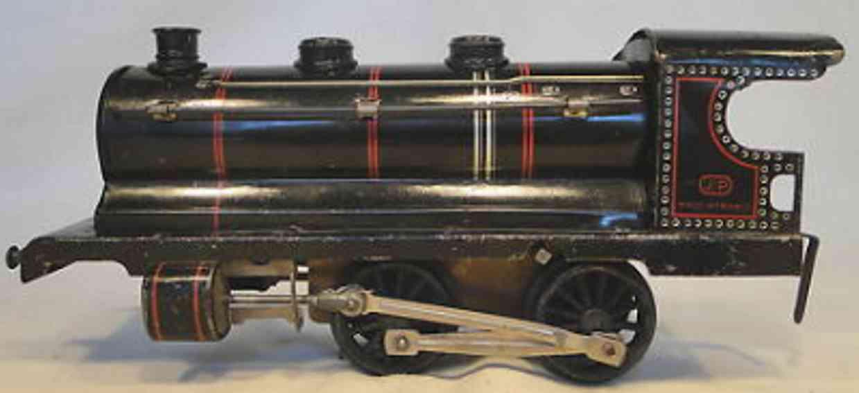 jep spielzeug eisenbahn uhrwerk-dampflokomotive