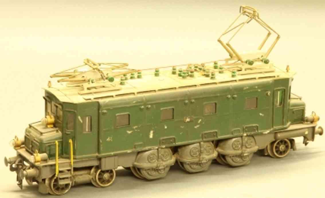 kraft max spielzeug eisenbahn lokomotive elektrolokomotive ae 3/6 2'c01' der sbb in grün und grau für