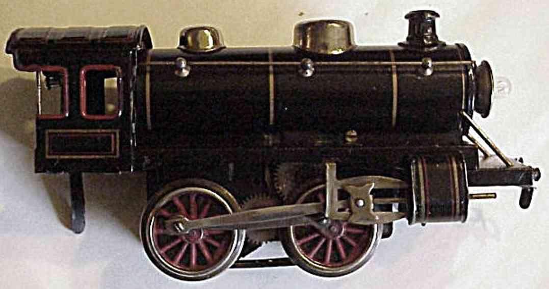 kraus-fandor 1015/18 spielzeug eisenbahn 20 volt dampflokomotive schwarz spur 0