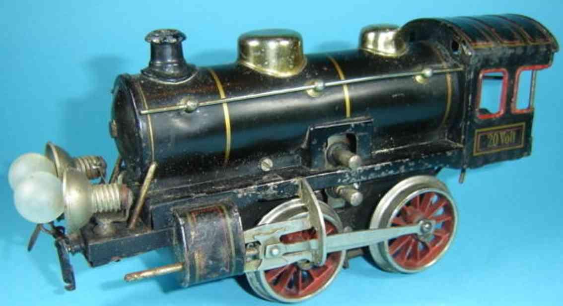 kraus-fandor 4/401 spielzeug eisenbahn schlepptenderlokomotive 20 volt spur 1