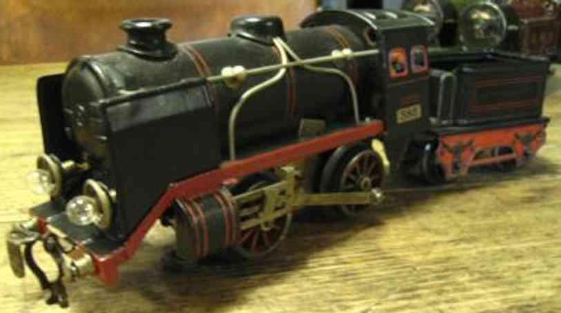 kraus-fandor 585/12 spielzeug eisenbahn uhrwerk-dampflokomotive spur 0
