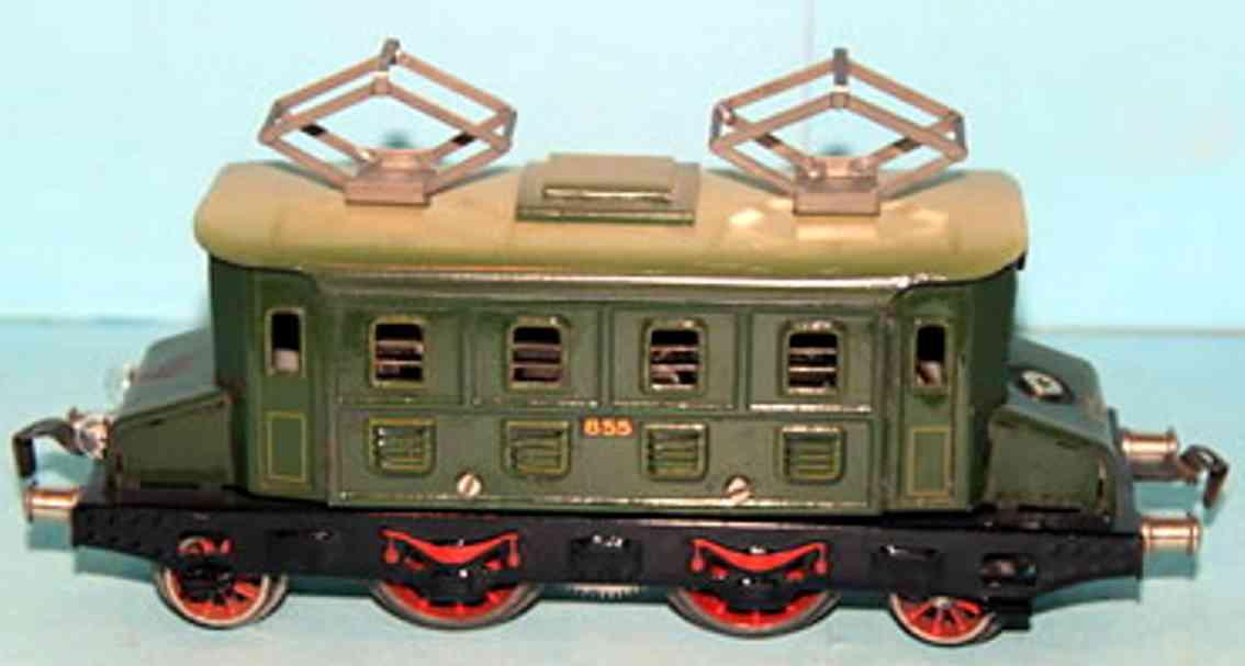 kraus-fandor 855 railway toy engine full railway locomotive gauge 0