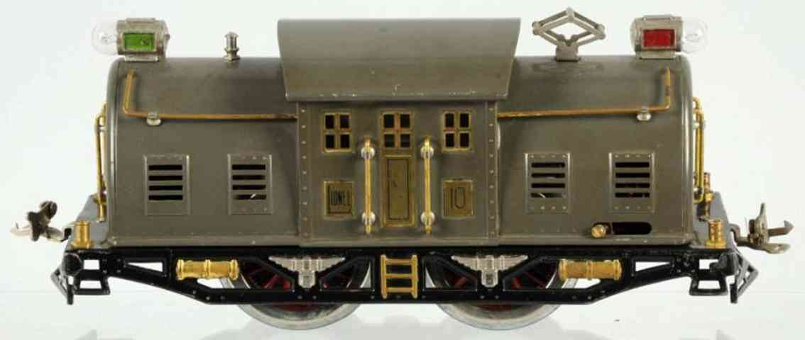 lionel 10 type II spielzeug eisenbahn elektro-lokomotive 0-b-0 in grau