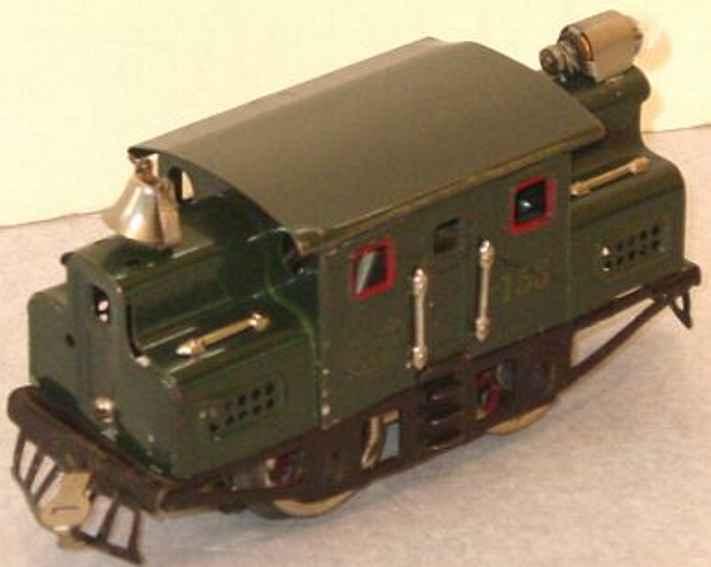 lionel 153 spielzeug eisenbahn elektrische lokomotive in gruen spur 0