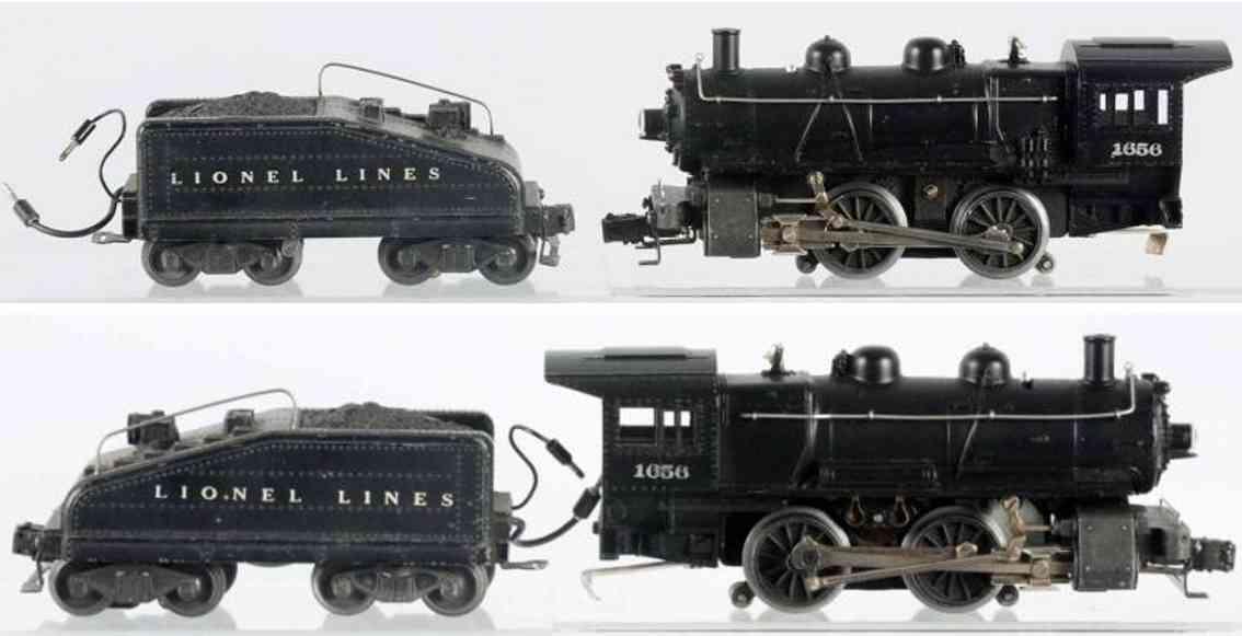 lionel 1656 6403B eisenbahn dampflokomotive spur 0