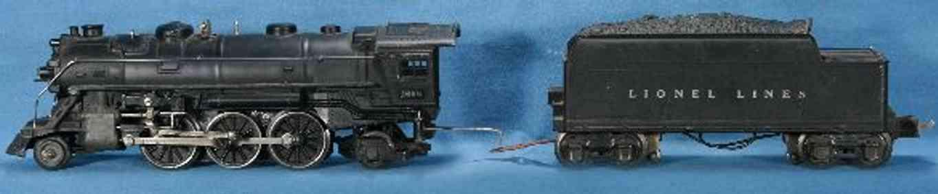 lionel 1666e spielzeug eisenbahn dampflokomotive tender 2689w spur 0