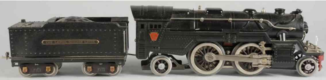 lionel 1835e eisenbahn dampflokomotive tender standard gauge
