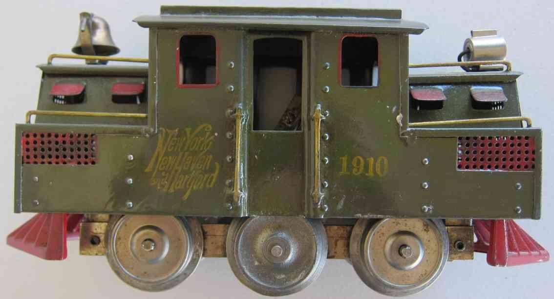 lionel 1910 spielzeug eisenbahn lokomotive in dunkel olivgruen standard gauge