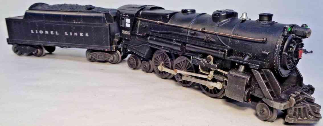 lionel 2025 1952 railway toy engine prairie locomotive gauge 0