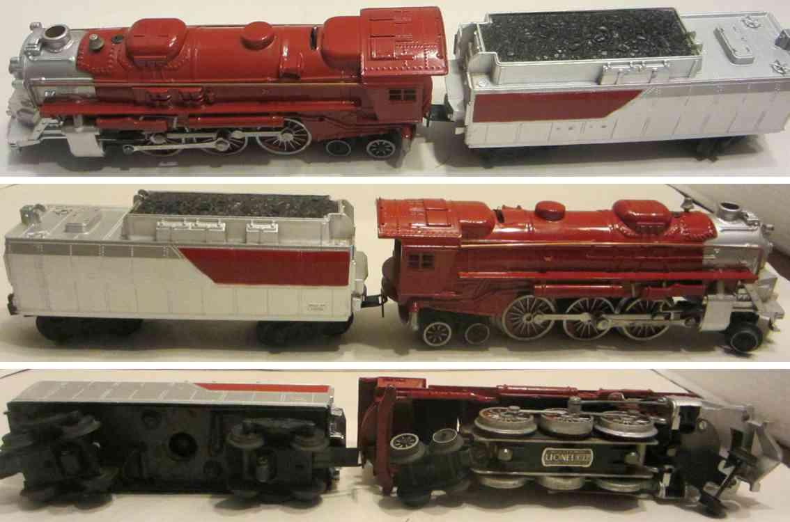 lionel 2037 spielzeug eisenbahn dampflokomotive mit tender spur 0