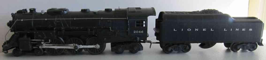 lionel 2046 spielzeug eisenbahn dampflokomotive hudson spur 0