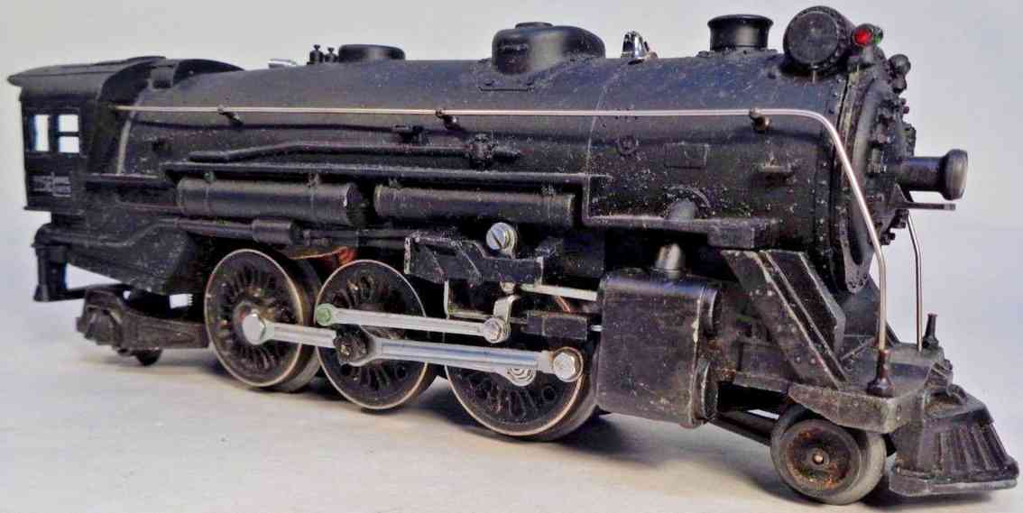 lionel 225e railway toy engine locomotive tender 2235w black die-cast gauge 0
