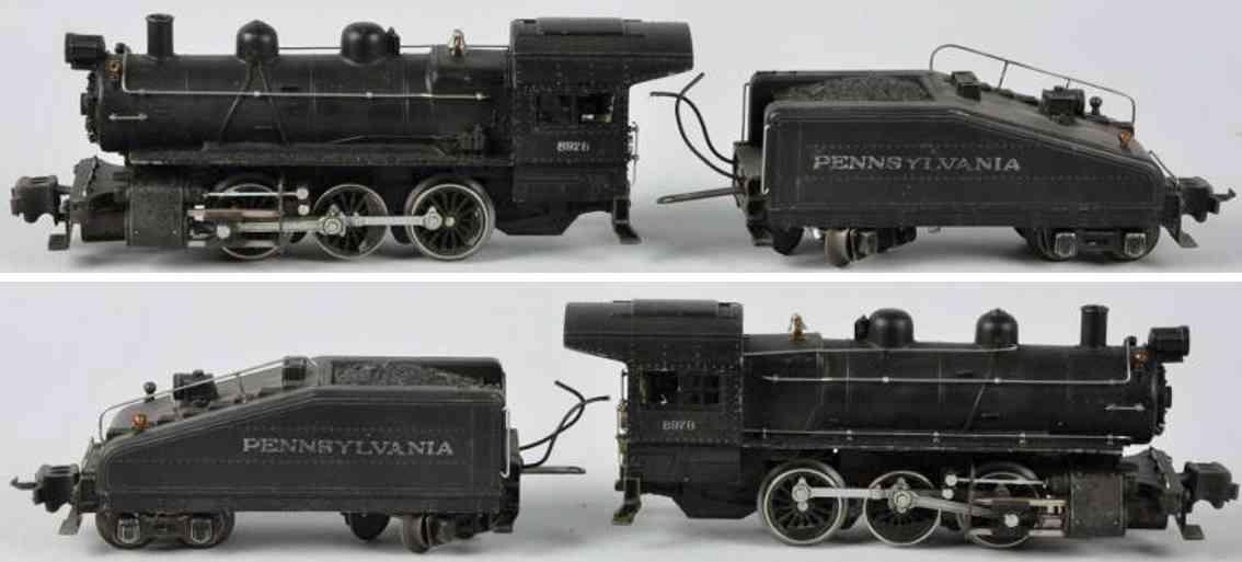 Lionel 227 Lokomotive mit Tender 2227B