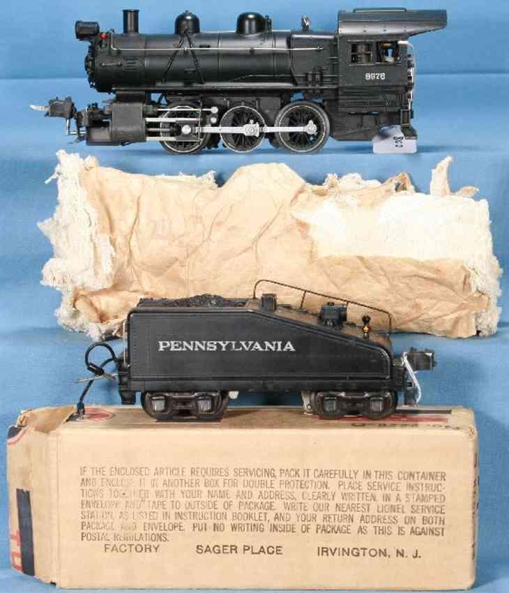 lionel 228 1941 spielzeug eisenbahn dampflokomotive tender 2228b spur 0