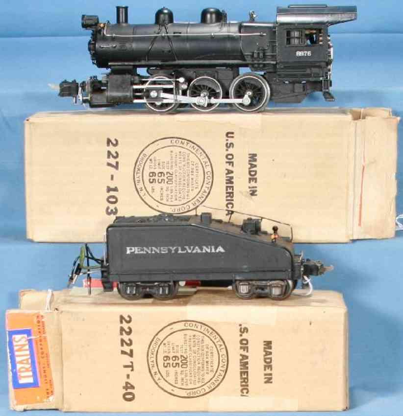 Lionel 233 Dampflokomotive