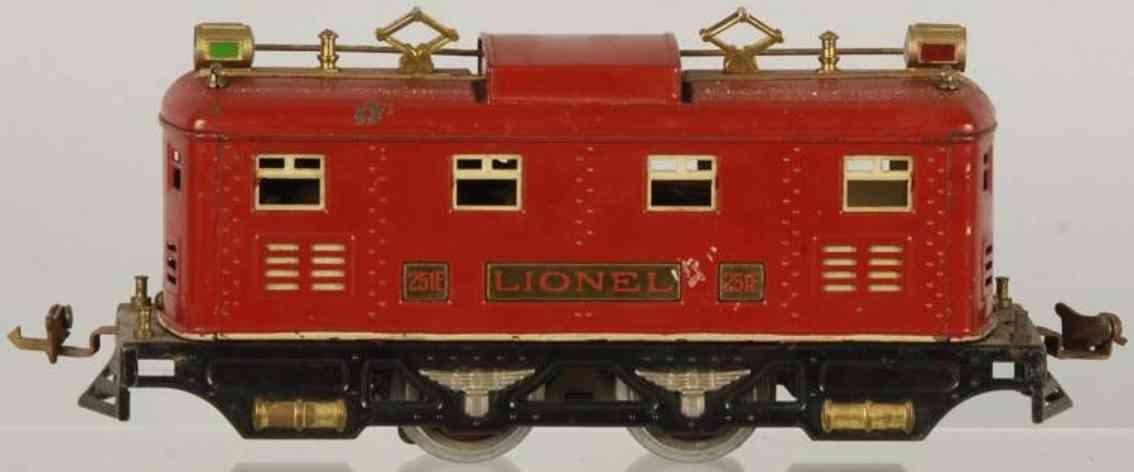 Lionel 251 E Lokomotive in rot