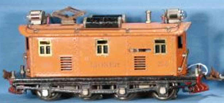 lionel 256 spielzeug eisenbahn eletkrolokomotive in orange spur 0