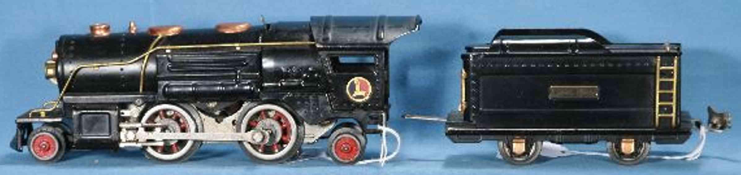 lionel 259e spielzeug eisenbahn dampflokomotive mit tender 259t in schwarz spur 0