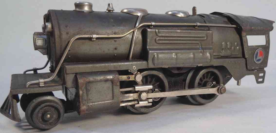 lionel 259e railway toy engine steam locomotive 1689t tender gunmetal gauge 0