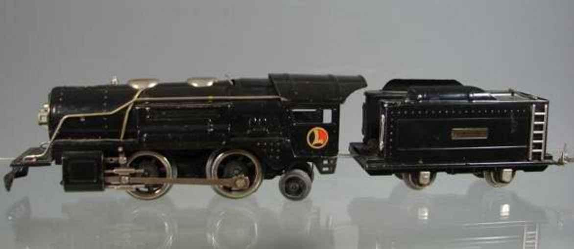 lionel 259e sielzeug eisenbahn dampflokomotive mit tender spur 0