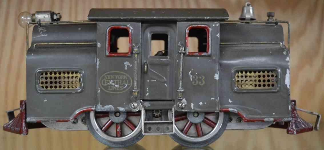 lionel 33 spielzeug eisenbahn elektrolokomotive grau standard gague