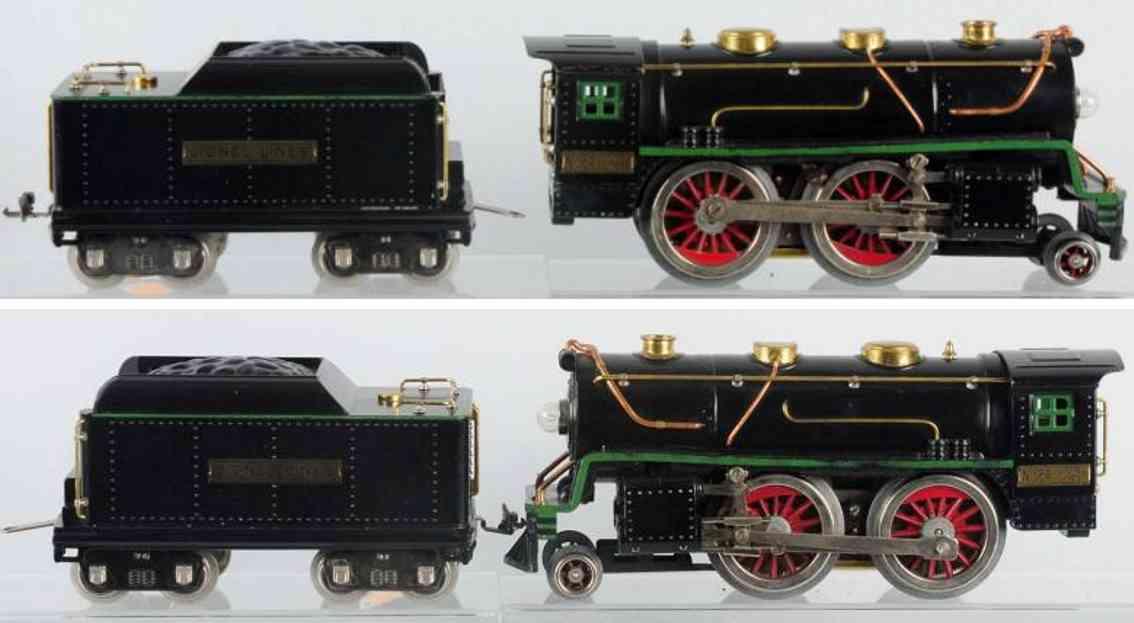 lionel 384 eisenbahn dampflokomotive tender 384t standard gauge