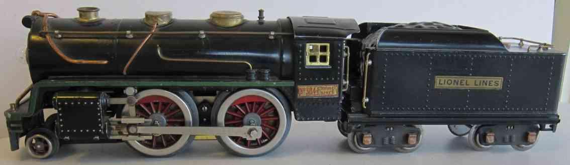 lionel 384e spielzeug eisenbahn dampflokomotive mit tender standard gauge