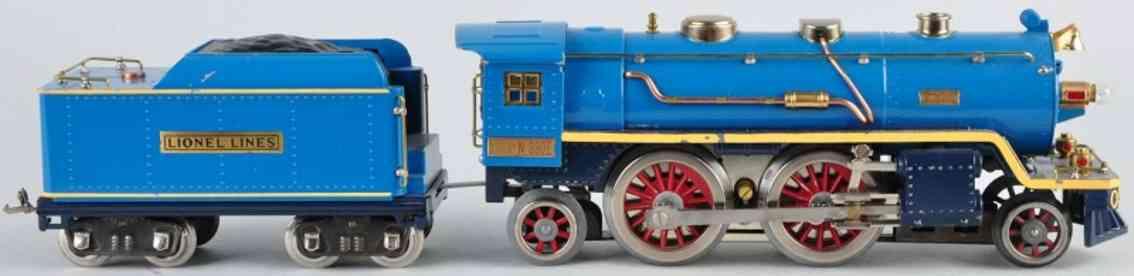 lionel 390e typ 4 spielzeug eisenbahn dampflokomotive blau