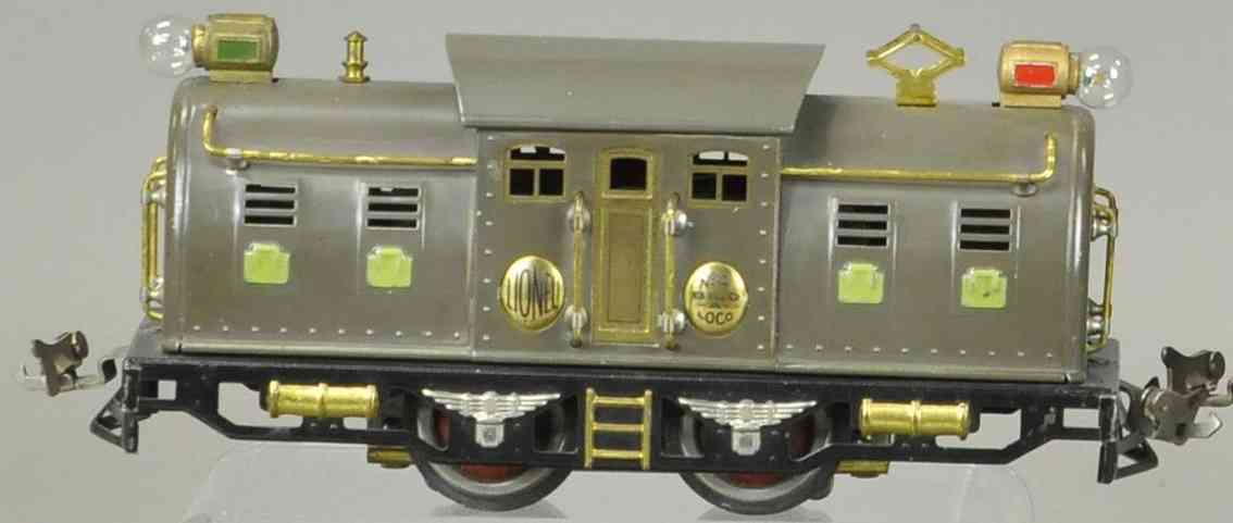 lionel 4 spielzeug eisenbahn elektrolokomotive grau spur 0