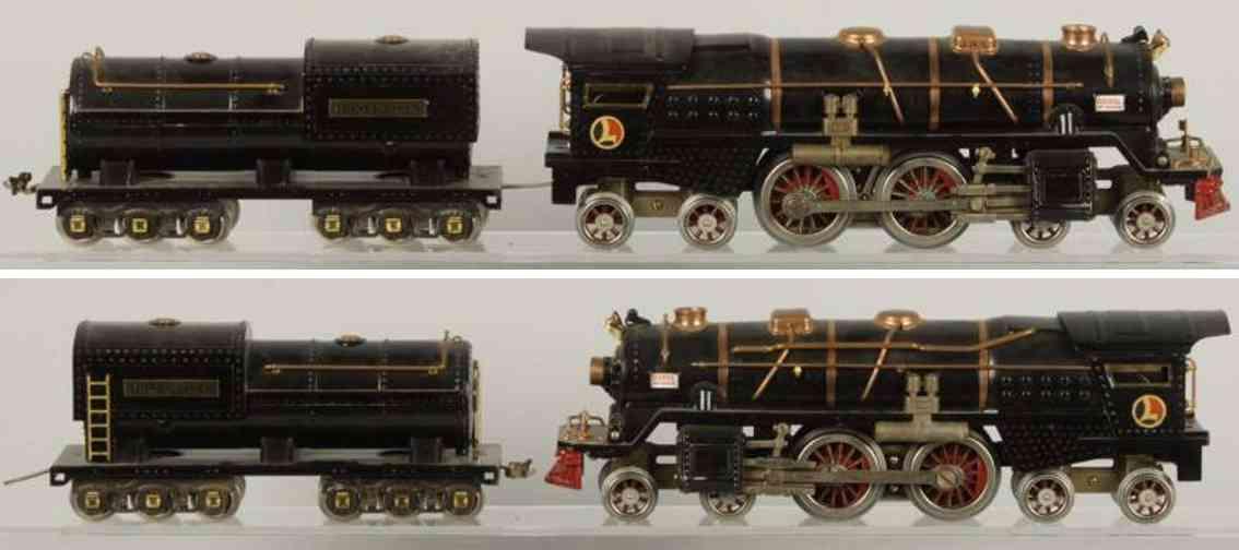 lionel 400 e lokomotive mit tender 400t standard gauge