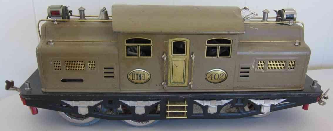lionel 402 spielzeug eisenbahn elektrolokomotive standard gauge