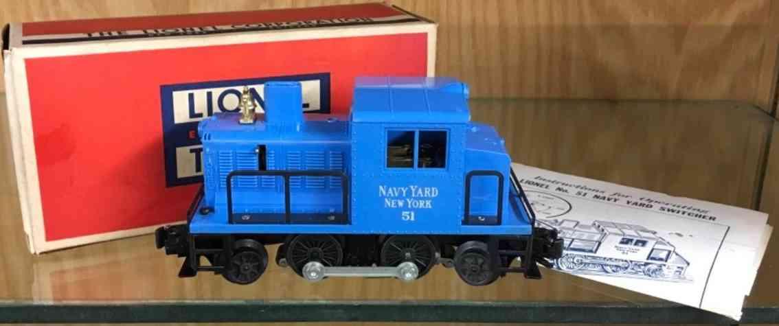 lionel 51 spielzeug eisenbahn navy yard rangierlokomotive ersten vulkan lok spur 0