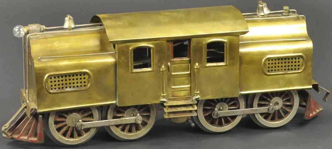 lionel 54 spielzeug eisenbahn elektrische lokomotive messing standard gauge