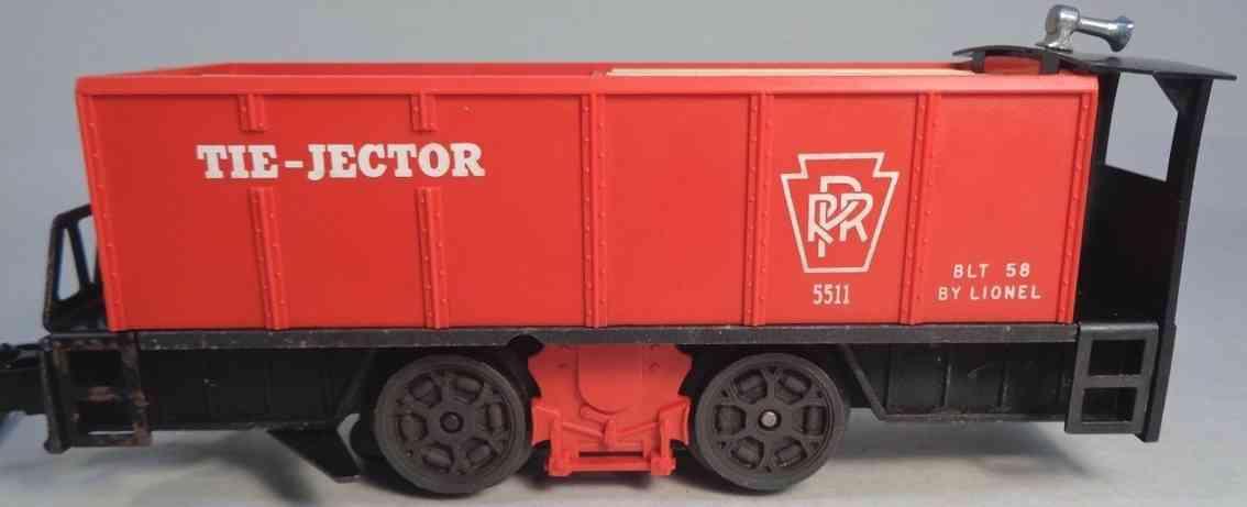 lionel 55 spielzeug eisenbahn lokomotive tie jector rot schwarz spur 0