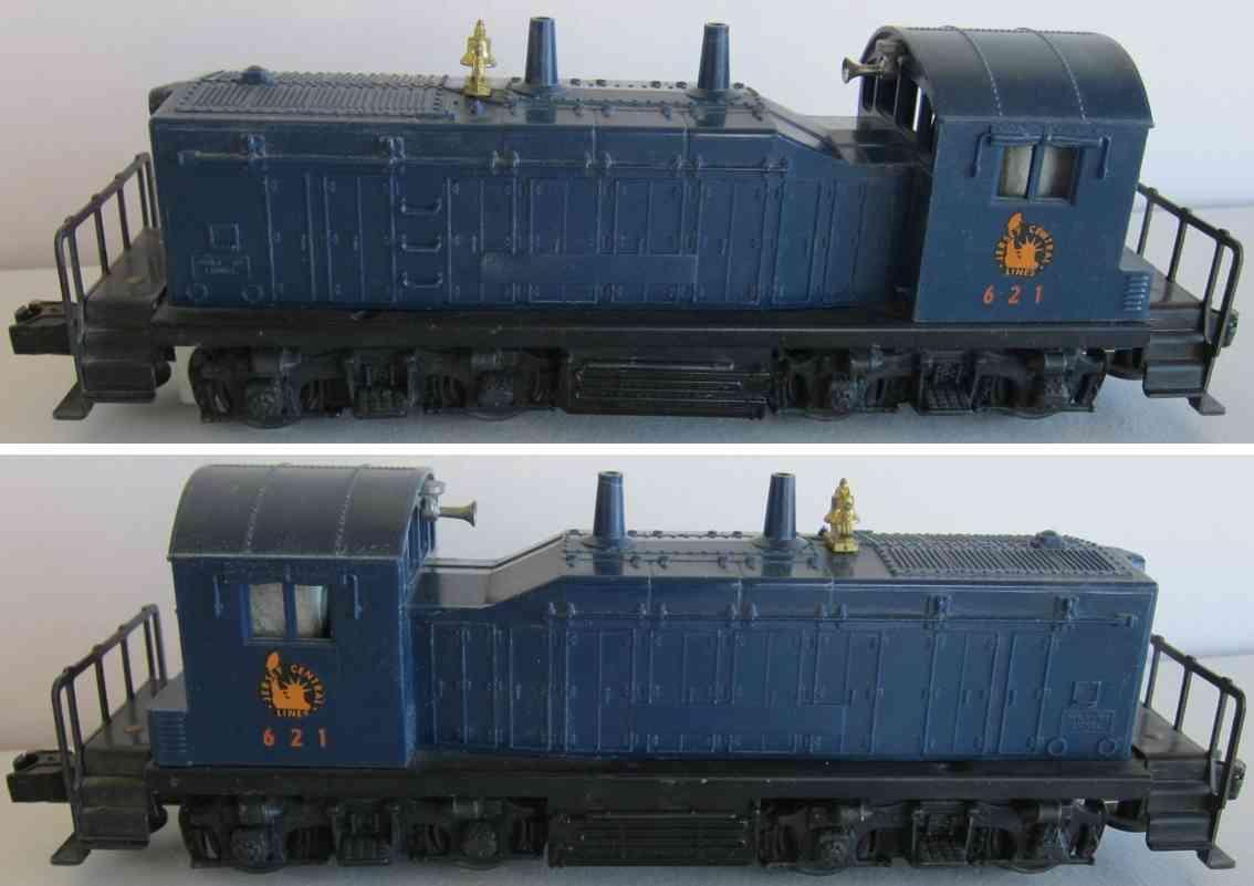 lionel 621 railway toy engine jersey central lines gm nw2 diesel switcher locomotive gauge 0