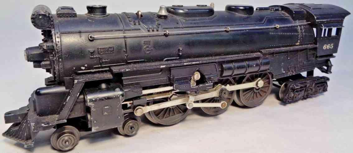 lionel 665 spielzeug eisenbahn lokomotive hudson spur 0