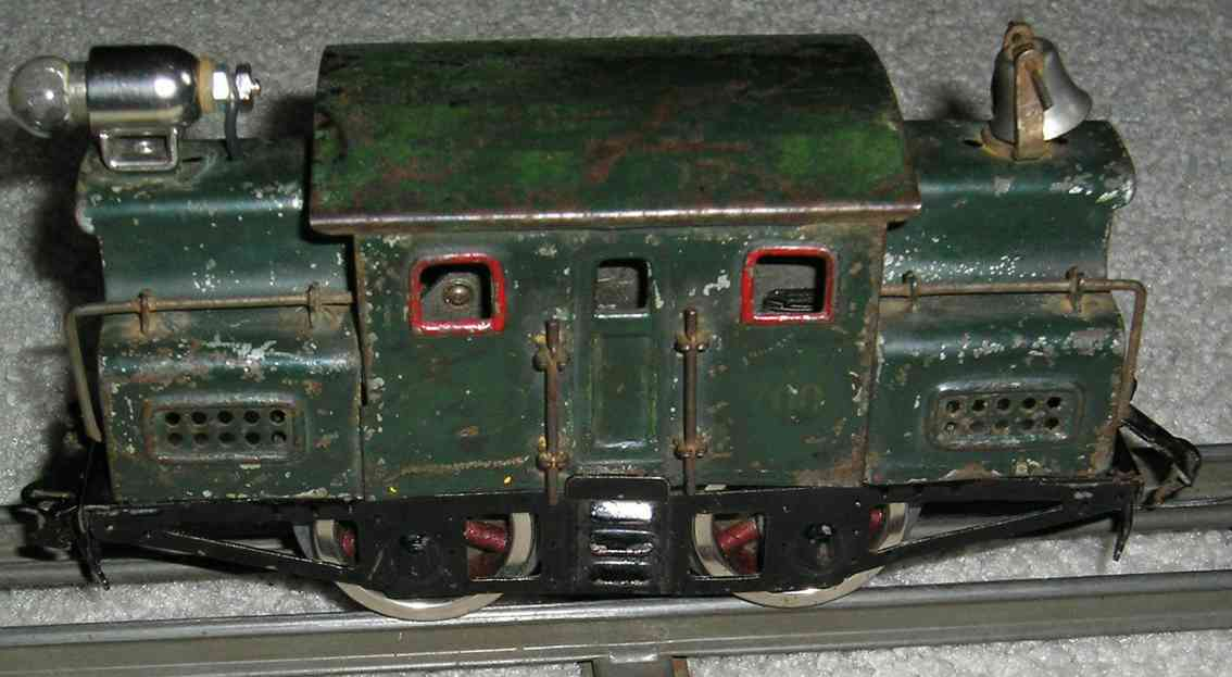 lionel 700 railway toy engine electric engine in dark green gauge 0
