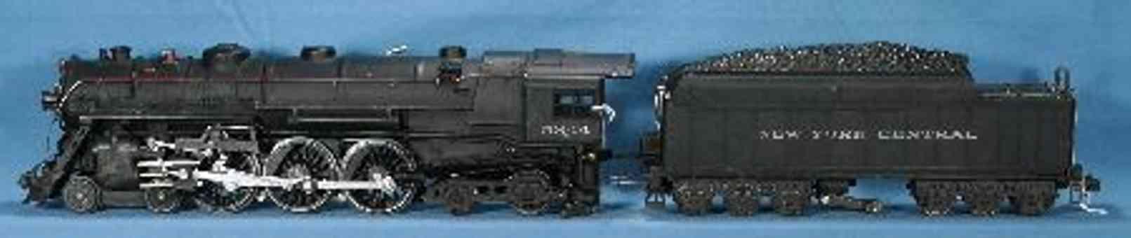 lionel 700e dampflokomotive mit tender 700w